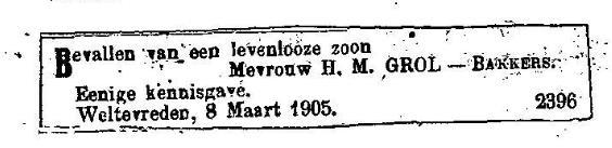 Cornelis Grol - 1845 - 1886