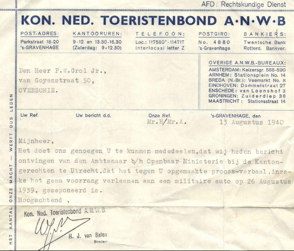 bf24f36da2f ... directeur himself! De wereld stond in brand, maar de  boete-administratie ging gewoon door… Meer over deze Piet Grol en zijn  familie, ...