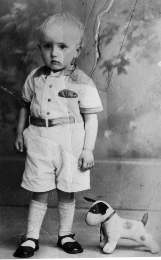 Emanuel Frederikus Grol in zijn jonge jaren